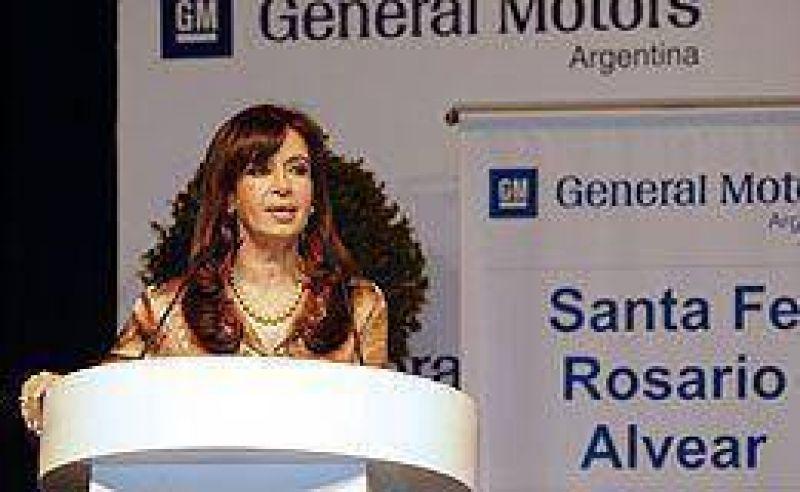 Cristina ayuda a General Motors con préstamo de u$s 70 millones con fondos de la Anses
