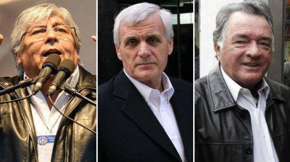 Moyano y Barrionuevo convocaron a la CGT de Cristina para pedir paritarias libres