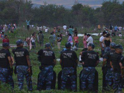 Más de 300 familias se asentaron en la zona sur