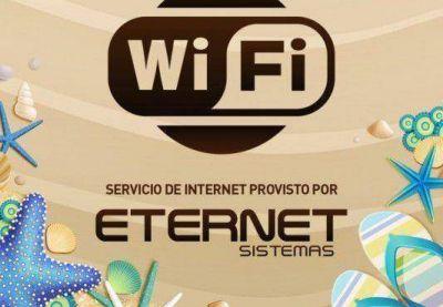 Wi Fi gratuito en las playas del partido