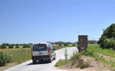 Insisten para que Provincia finalice 1500 metros de asfalto para unir el Parque Industrial con Ruta 6