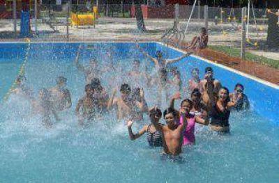 Más chicos participan de las colonias gratuitas de verano