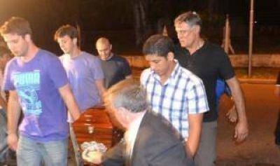 Último adiós a los fallecidos por el rayo en Villa Gesell