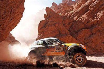 """Rally Dakar 2014: dura sanción para Orly Terranova por """"conducta antideportiva"""""""