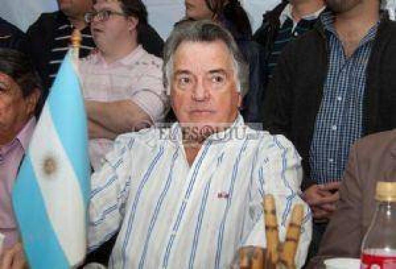 Luis Barrionuevo convoc� a la �unidad sindical�