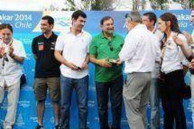 """Juan Manuel Urtubey, el Dakar 2014: """"Salta tiene visitantes de todo el mundo"""""""