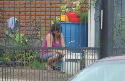 En el barrio Psicólogos llevan semanas sin agua