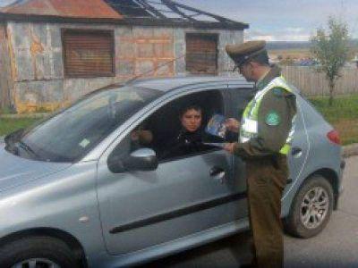 Intensifican controles vehiculares en rutas fueguinas chilenas y argentinas