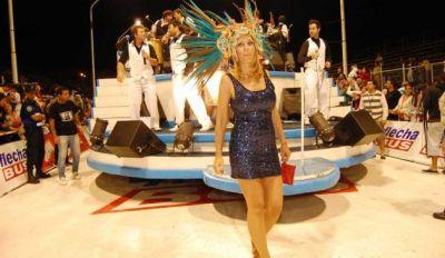 Evelyn Von Brocke y Marina Calabró le pusieron color al Carnaval de Gualeguaychú