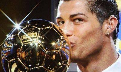 Cristiano Ronaldo se qued� con el Bal�n de Oro