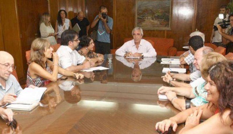 Lafalla afirmó a los gremialistas que trabajará para mejorar las condiciones laborales de los trabajadores