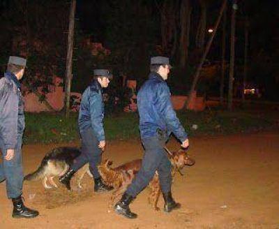 Intensifican controles de prevención del delito en distintos barrios