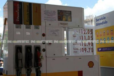 Shell volvió a aumentar sus precios en el Chaco y la nafta superó los $ 12