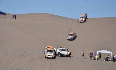 Barilochense continúa superando etapas en el Dakar