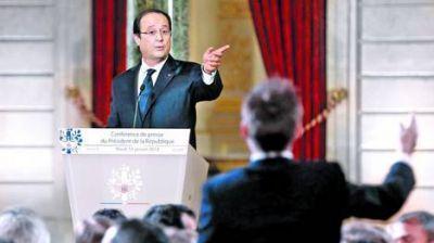 Francia: Hollande dio la cara y no desmintió su infidelidad