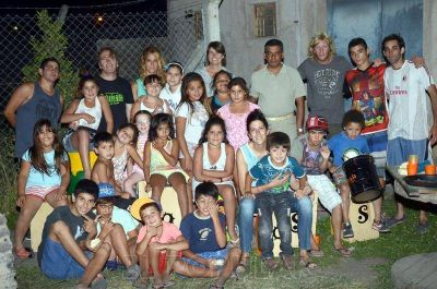 La Callejeada de AOMA festej� sus cuatro a�os