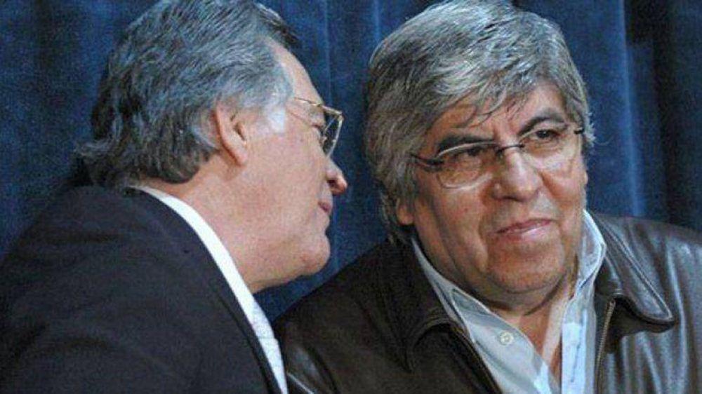 Moyano y Barrionuevo ratificaron su intención de lograr la unidad del movimiento obrero