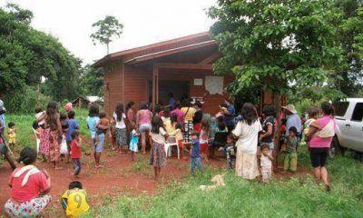 La aldea Iriap� ya recuper� el servicio el�ctrico y de agua potable