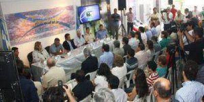 Se realizó ayer por la mañana la presentación oficial de la 13° de la Fiesta Nacional de la Corvina