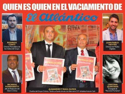 Vaciamiento en el ex Diario El Atlántico: Crónica de una muerte anunciada