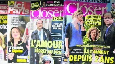 Revelan que comenzó hace ya dos años el affaire de Hollande