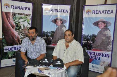 Fueron registrados más de 700 trabajadores rurales