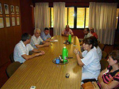Dialogan gremios y autoridades de Salliqueló sobre la pauta salarial 2014