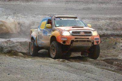 Gandara abandonó el Dakar a falta de una etapa