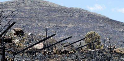 Tornquist: son 20.000 las hectáreas consumidas por un nuevo incendio