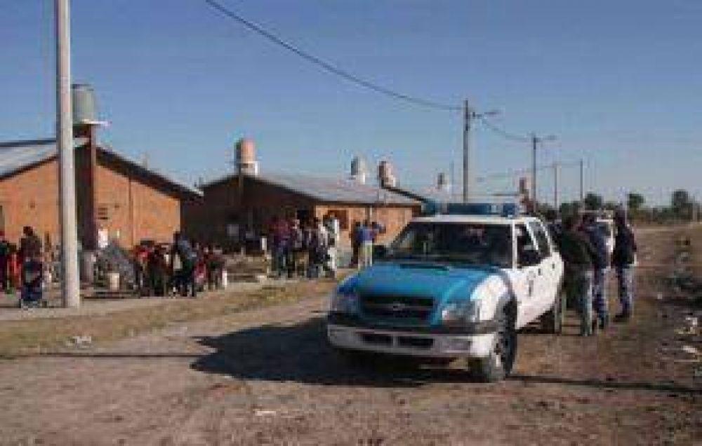 Firmaron acuerdo y desalojaron las 40 viviendas usurpadas cercanas al barrio Mapic