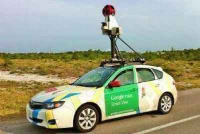 Google presente en las calles de la ciudad