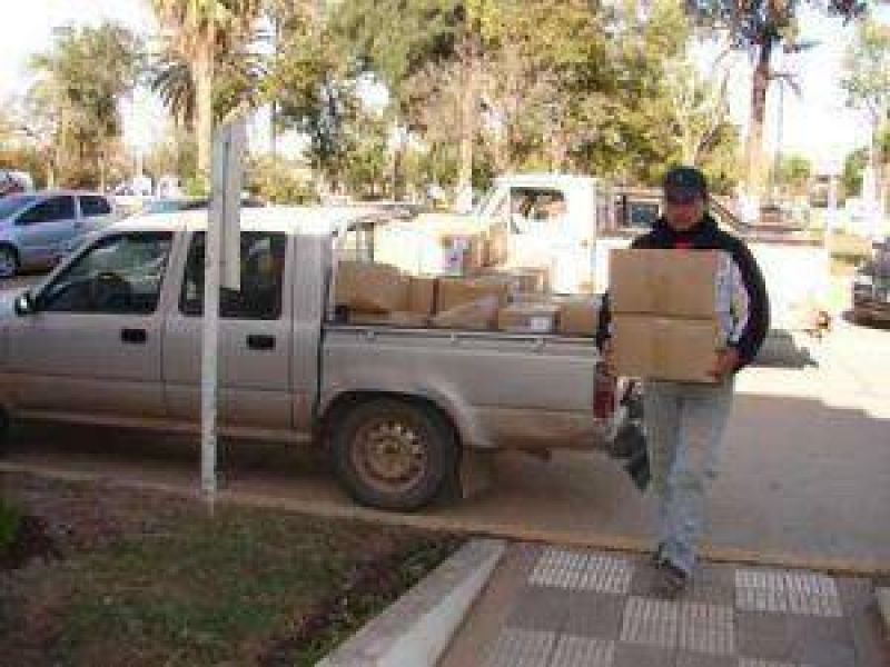 Donan larvicidas para 10 mil depósitos de agua en Charata