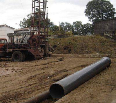 Nueva perforación en la ciudad para otorgar una mayor presión de agua
