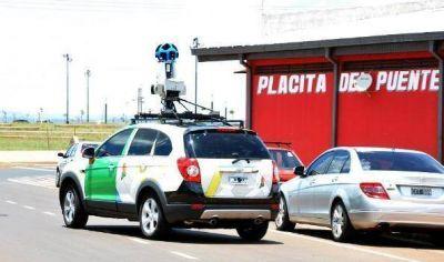 Los autos del Street View llegaron a la capital misionera