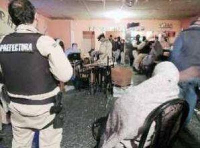 Rincón: Por trata de personas, allanaron prostíbulos