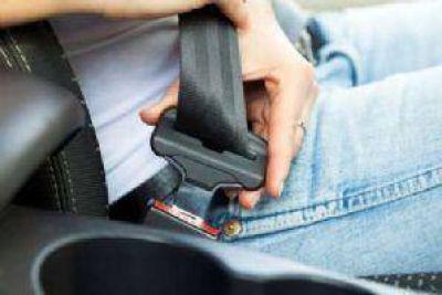 Alarma: Más del 60% de los conductores no utiliza cinturón de seguridad