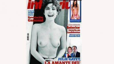 El topless de la amante de Hollande