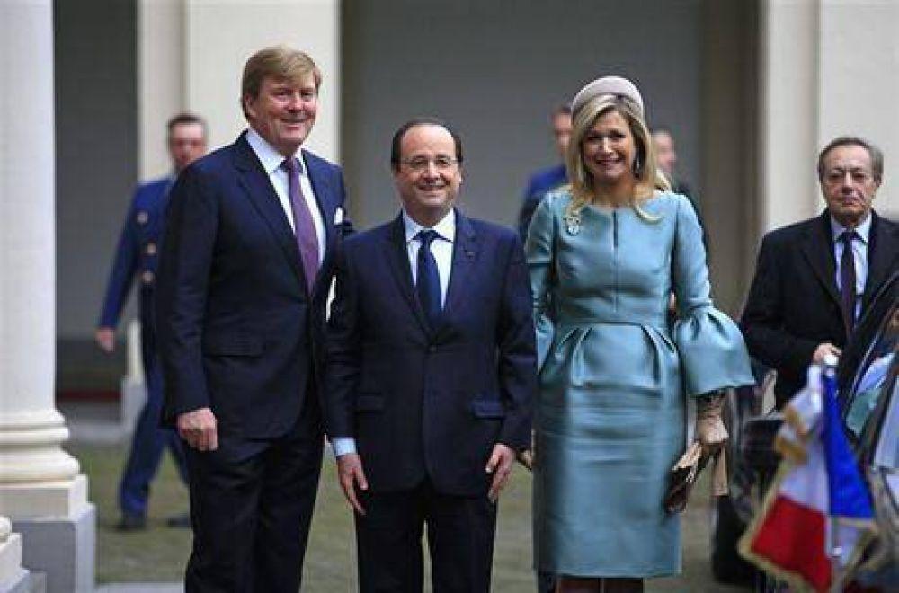 """Hollande, sobre su pareja: """"Valérie se encuentra mejor"""""""