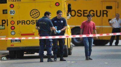 Indagarán al detenido por el intento de robo al blindado en Moreno