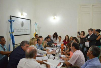 Bassín se reunió con los legisladores y avanzarán en la creación de un nuevo protocolo