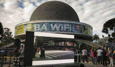 BA WiFi: Ya hay 200 puntos disponibles
