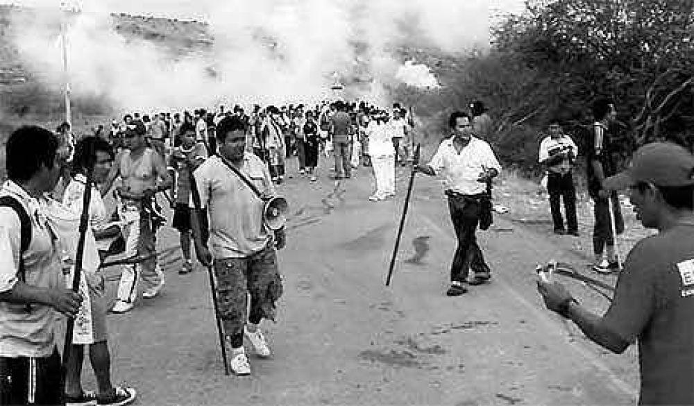Un oscuro día de furia en la Amazonia peruana.