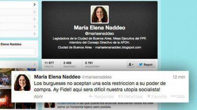 Pol�mico tuit de legisladora kirchnerista sobre el cepo al comercio electr�nico