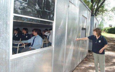 """El Gobierno de la Ciudad ya firmó la preadjudicación de las """"aulas container"""""""