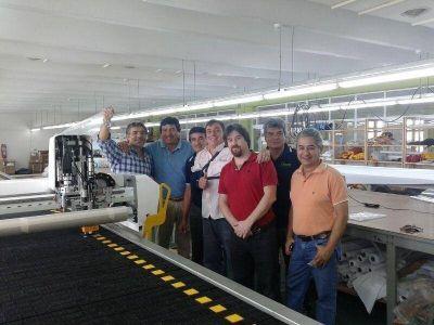 FONTEX superó la meta trazada de confeccionar 100 mil guardapolvos