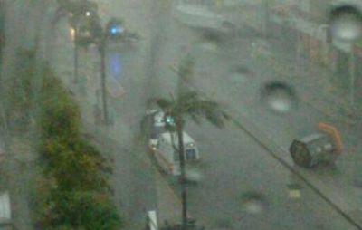 Río Cuarto: tormentón