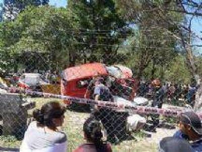 Tragedia en Campo Quijano: Se conocieron los nombres de los amigos que acompa�aban al conductor del Fiat Uno