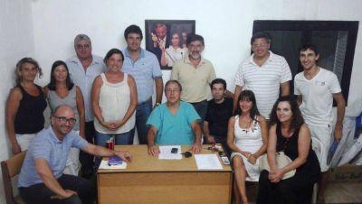 Jorge Lenzi preside la mesa de conducción del FPV de Saladillo
