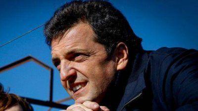 Sergio Massa busca socios políticos en Mendoza