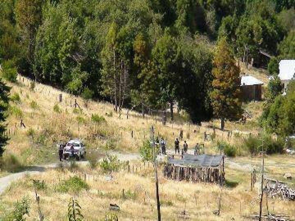 Buscan en Las Golondrinas a prófugos de Bariloche